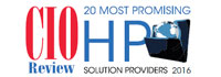 20 Most Promising HP Solution Providers - 2016